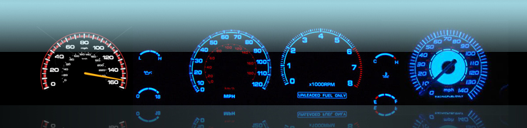 Speed Glo Gauges