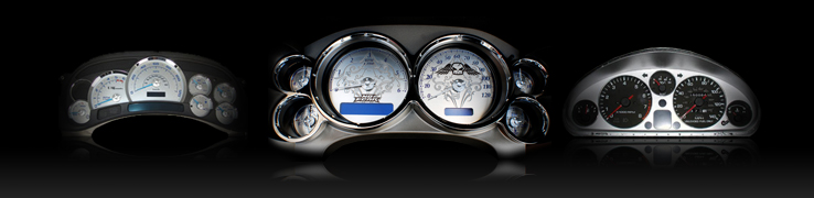 Stainless Steel Gauge Faces