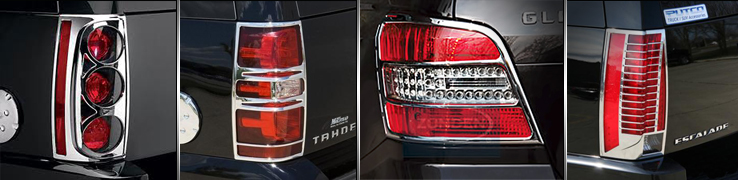 Chrome Tail Light Trim