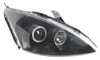 Ford Focus 2000-2004 Black Projector Headlights w/ halo