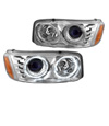 2002 GMC Yukon Denali  Chrome Projector Headlights