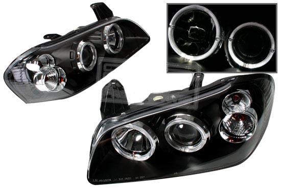 Nissan Maxima 2000 2001 Black Housing Projector Headlights By Ks