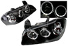 Nissan Maxima 2000-2001 Black Housing Projector Headlights