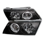 1997 Nissan Sentra  Black Projector Headlights