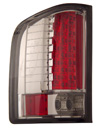 Chevrolet Silverado 2007-2008 Smoked LED Tail Lights