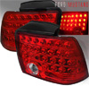 2001 Ford Mustang  Red Lens LED Tail Lights