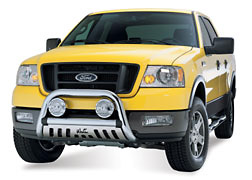 Ford F150 2004 Westin Bull Bar w/Skidplate (Black)