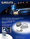 Ford Super Duty 1999-2010 Clear LED Cab Lights