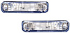Chevrolet S-10 1982-93 Clear Bumper Lenses