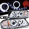 2003 Chevrolet Impala   Projector  W/LED Signal Headlights - Chrome Housing Clear Lens
