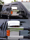 Ford F-350 2008 Mirror Covers (Chrome)