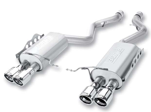 "Bmw M3 Coupe/Conv 2008-2011 Borla 2.75"" Rear Exhaust Section ""s-Type"" - Dual Round Rolled Angle-Cut"