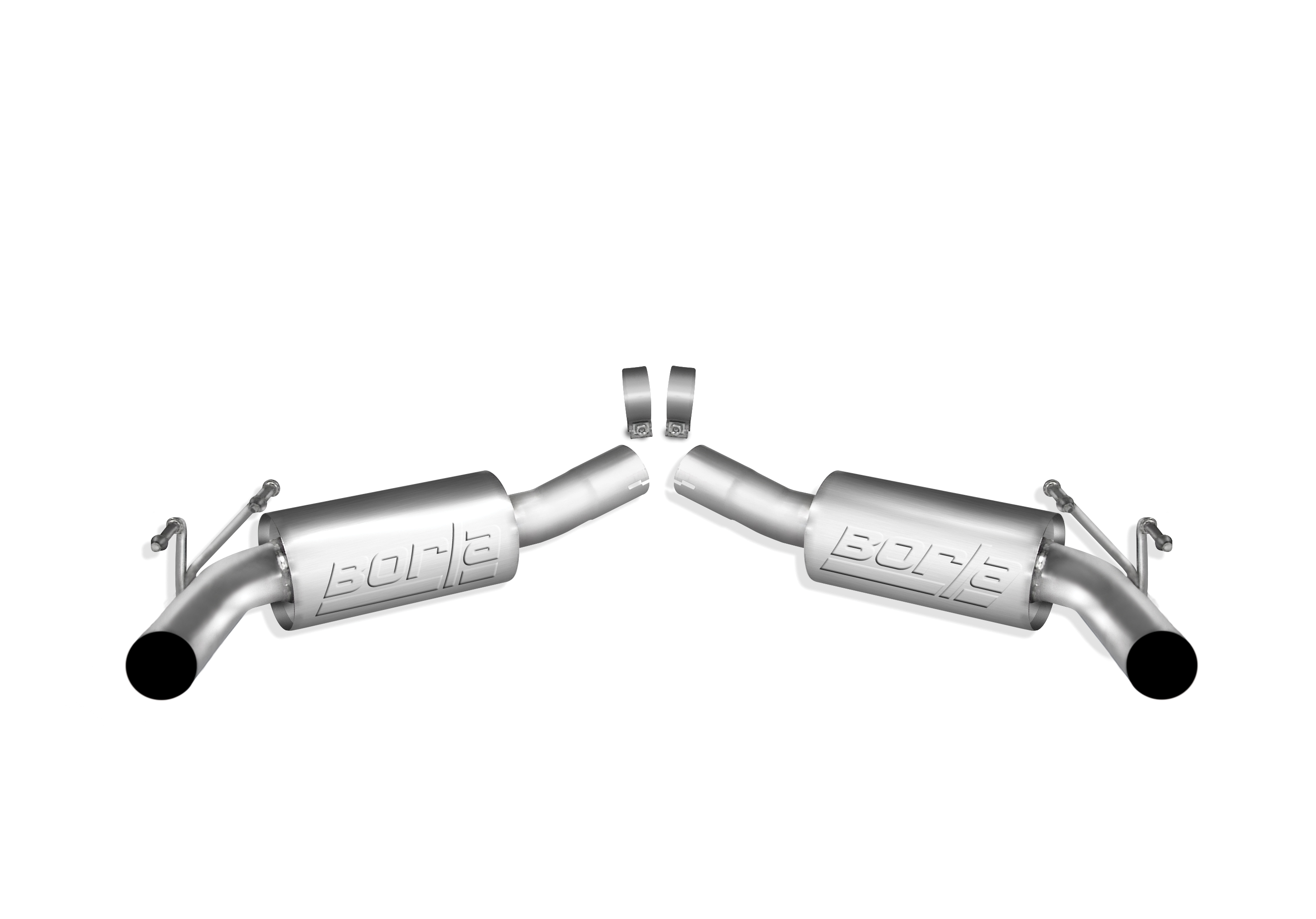 "Chevrolet Camaro 6.2l V8 2010-2012 Borla 2.5"" Rear Exhaust Section  ""s-Type"" -"