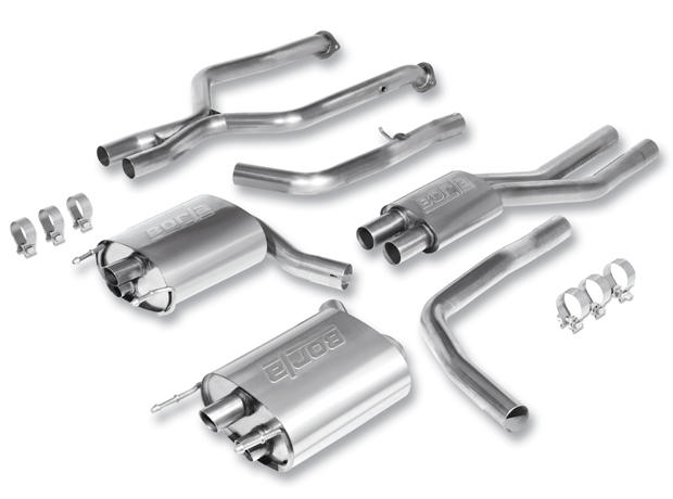 "Lexus IS350 Is-F  5.0l V8 2008-2011 Borla 2.5"" Cat-Back Exhaust System (offroad Only) -"