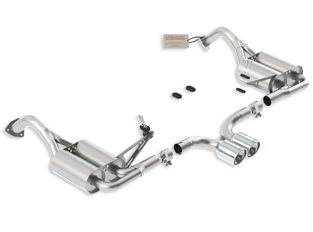 "Porsche Boxster  2010-2011 Borla 2.25"" Cat-Back Exhaust System  (offroad Only) -"
