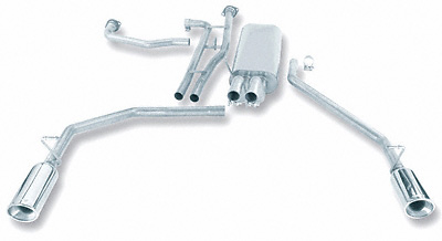 Nissan Titan Crew Cab 04-06 Stainless Steel Exhaust System
