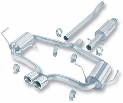 Mini Cooper 04-05 Borla Cat-Back Exhaust System