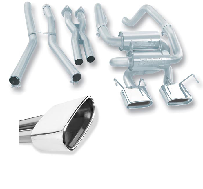 Chevrolet Corvette 05-06 6.0L Borla Cat Back Exhaust System