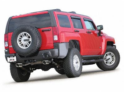Hummer H3 3.5L 2006 Split Rear Exit Exhaust System