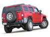 2006 Hummer H3 3.5L  Split Rear Exit Exhaust System