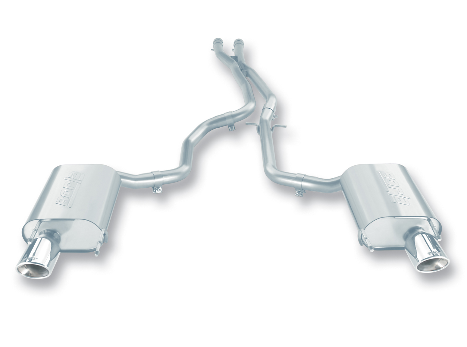 "Lexus IS350  2006-2008 Borla 2.25"" Cat-Back Exhaust System - Single Oval Rolled Angle-Cut"