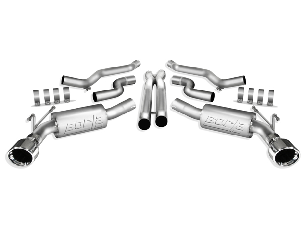 Chevrolet Camaro SS 2010 Borla Stainless Steel Cat-Back Exhaust System S-Type
