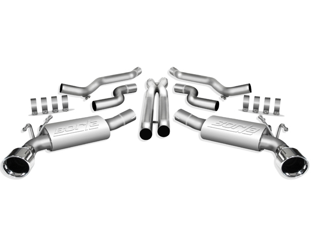 Chevrolet Camaro SS 2010 Borla Stainless Steel Cat-Back Exhaust System