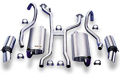 Pontiac Grand Prix Borla 97-03 Cat-Back Exhaust Systems