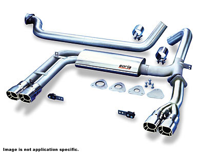 Chevy Corvette 97-00 Adjustable Borla Cat-Back Exhaust Systems