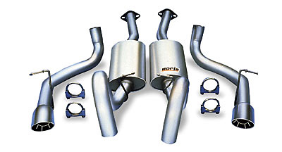 Mazda MX-6 V6 GT 93-94 Borla Cat-Back Exhaust Systems