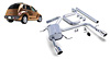 Chrysler PT Cruiser 01-02 Adjustable Borla Cat-Back Exhaust Systems