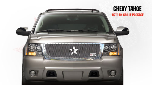 Chevrolet Suburban  2007-2011 - Rbp Rx Series Studded Frame Main Grille Chrome 1pc