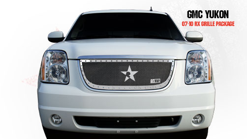 Gmc Yukon /Yukon Xl (includes Denali) 2007-2010 - Rbp Rx Series Studded Frame Main Grille Chrome 1pc