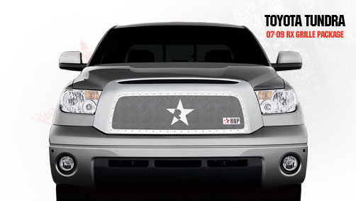 Toyota Tundra  2007-2009 - Rbp Rx Series Studded Frame Main Grille Chrome