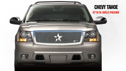 Chevrolet Tahoe  2007-2011 - Rbp Rl Series Plain Frame Main Grille Chrome 1pc