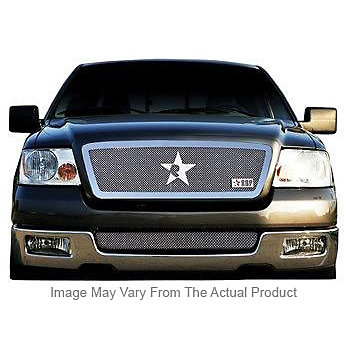 Ford Super Duty (except Harley Edition) 2005-2007 - Rbp Rx-3 Series Studded Frame Main Grille Chrome 3pc