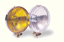 Driving Lights 55 Watt Bulb Chrome