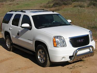 Chevrolet Tahoe 2007 Chrome Stainless Steel Grill Gaurd
