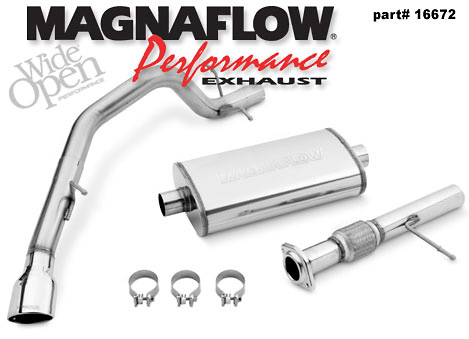 Chevrolet Tahoe 2007 Magnaflow Exhaust System