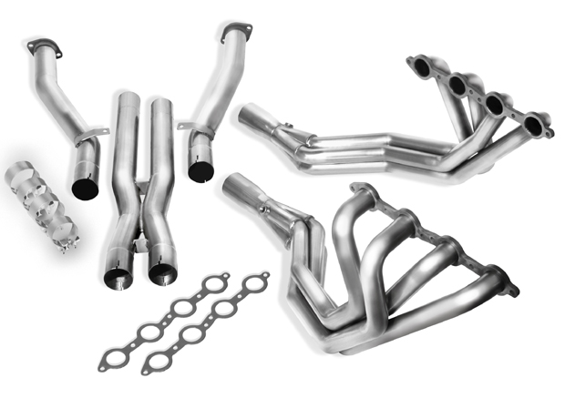 Chevrolet Corvette C5/Z06 5.7l V8 1997-2004 Borla Long Tube Exhaust Headers W/ X-Pipe (offroad Only) 