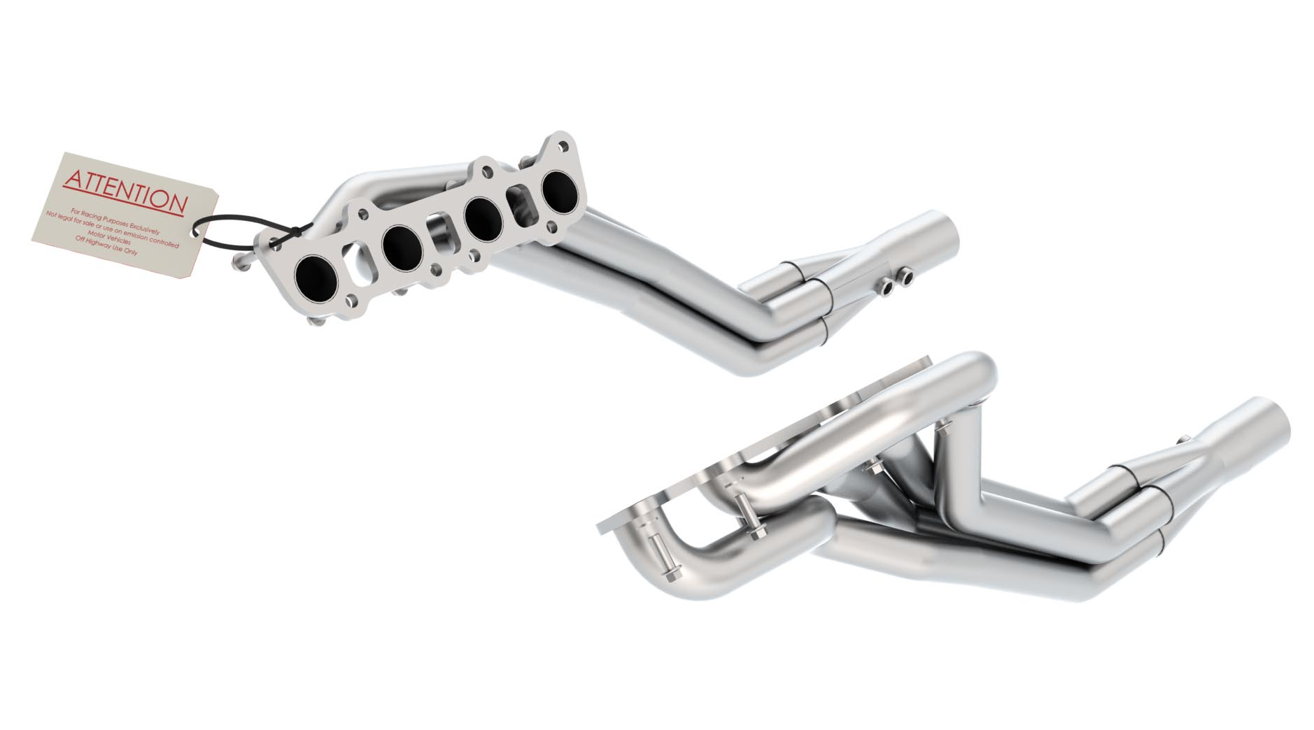 Ford Mustang Gt 2011-2012 Borla Long Tube Exhaust Headers (offroad Only)