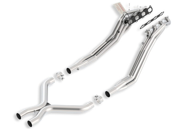 Ford Mustang Shelby Gt 500 2011-2012 Borla Long Tube Exhaust Headers W/ X-Pipe (offroad Only)