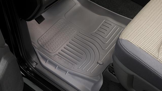 Dodge Ram 2003-2012 2500/3500 Husky Weatherbeater Series Front Floor Liners - Gray