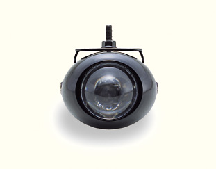 Projection Lights Clear - Black Rim