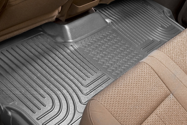 Dodge Caravan 2008-2013 ,  Husky Weatherbeater Series 3rd Seat Floor Liner - Gray