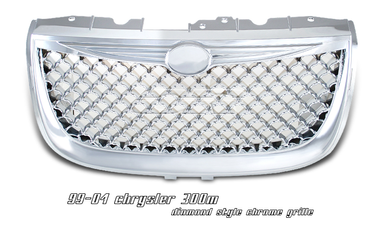 Chrysler 300m 2002-2004  Diamond Style Chrome Front Grill