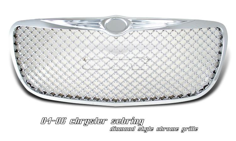 Chrysler Sebring Convertible 2004-2006 Diamond Style Grill