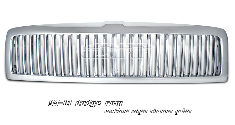 Dodge Ram 1994-2001 Vertical Chrome Grill