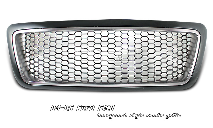 Ford F150 1999-2003 Honeycomb Style Smoked Grill