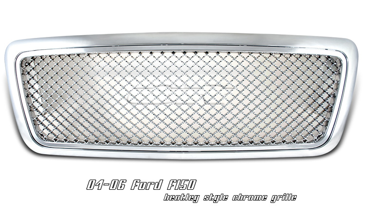 Ford F150 2004-2006 Bentley Style Chrome Grill
